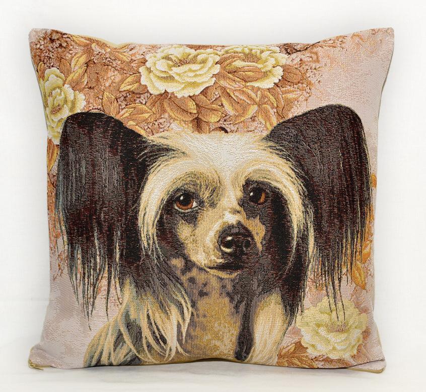 Гобелен китайская хохлатая собака