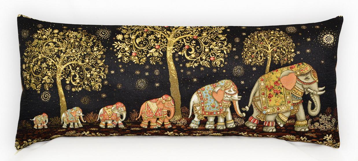 Гобелен индийские слоны