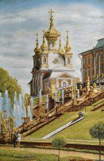 Купить гобелен СПб придворный храм