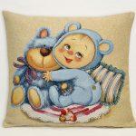 купить гобелен мамино счастье медвежонок