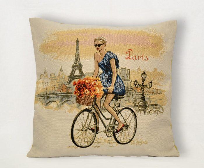 Гобеленовая наволочка леди Париж