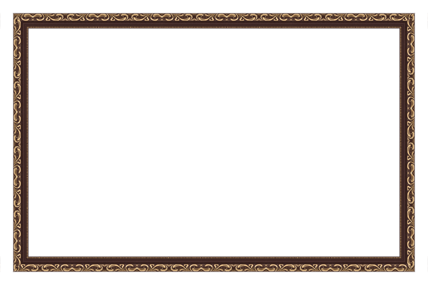 багет коричневый 3см