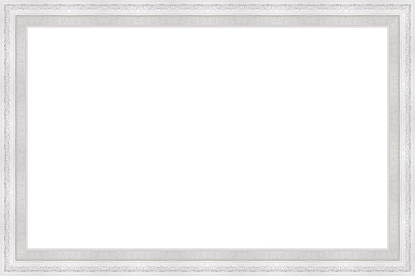 багет белый 5см