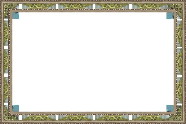 двойная рамка с резным элементом 10см