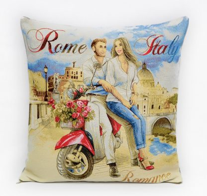 Гобелен романтическое свидание Рим_45х45