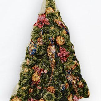 Гобеленовый чехол рождественский цветок