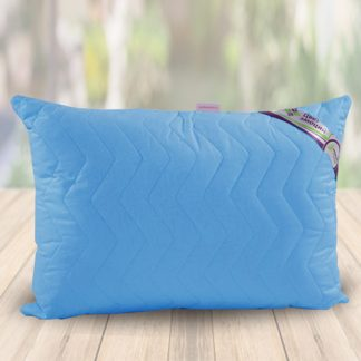 аквамарин подушка