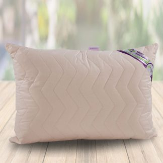 бежевый подушка с наволочкой поплин