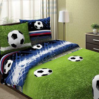 Комплект постельного белья бязь футбол