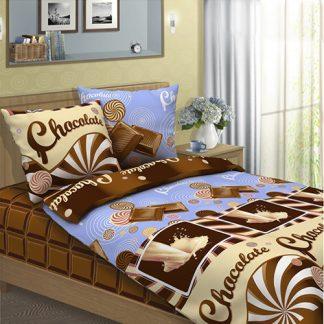 Комплект постельного белья бязь шоколад