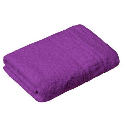 полотенце махровое фиолетовый