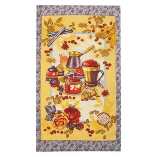 кофе полотенце для кухни