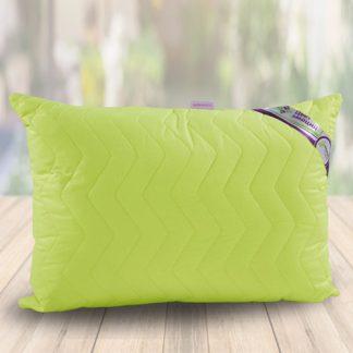 лайм подушка в поплине