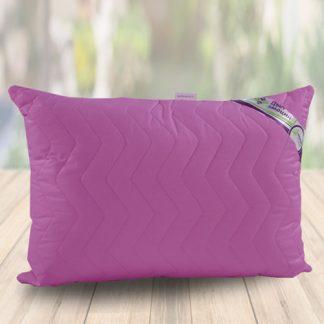 подушка фуксия с наволочкой поплин