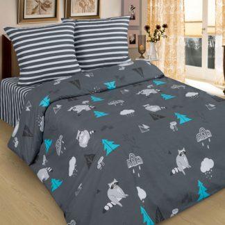 Комплект постельного белья поплин еноты