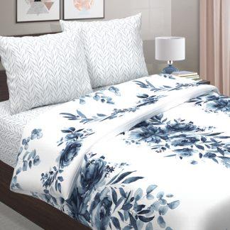 Комплект постельного белья поплин фарфор
