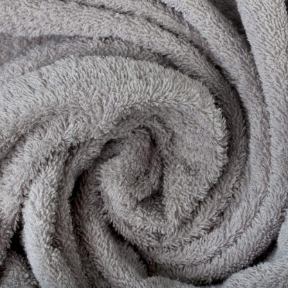 полотенце серое махровое