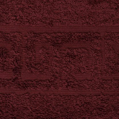 полотенце махровое цвет вино