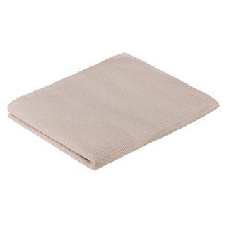 крем полотенце вафельное гладкокрашеное