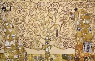 Гобелен древо Климт